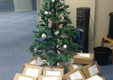 Relate Lincolnshire gifts ready to send.