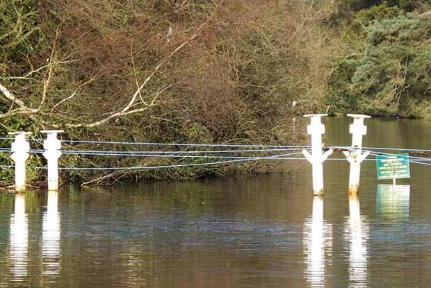 White Bridge work in January 2014. Photo: Ruth Holland