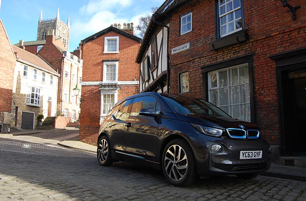 Are electric cars like this BMW i3 the future of motoring in Lincoln?