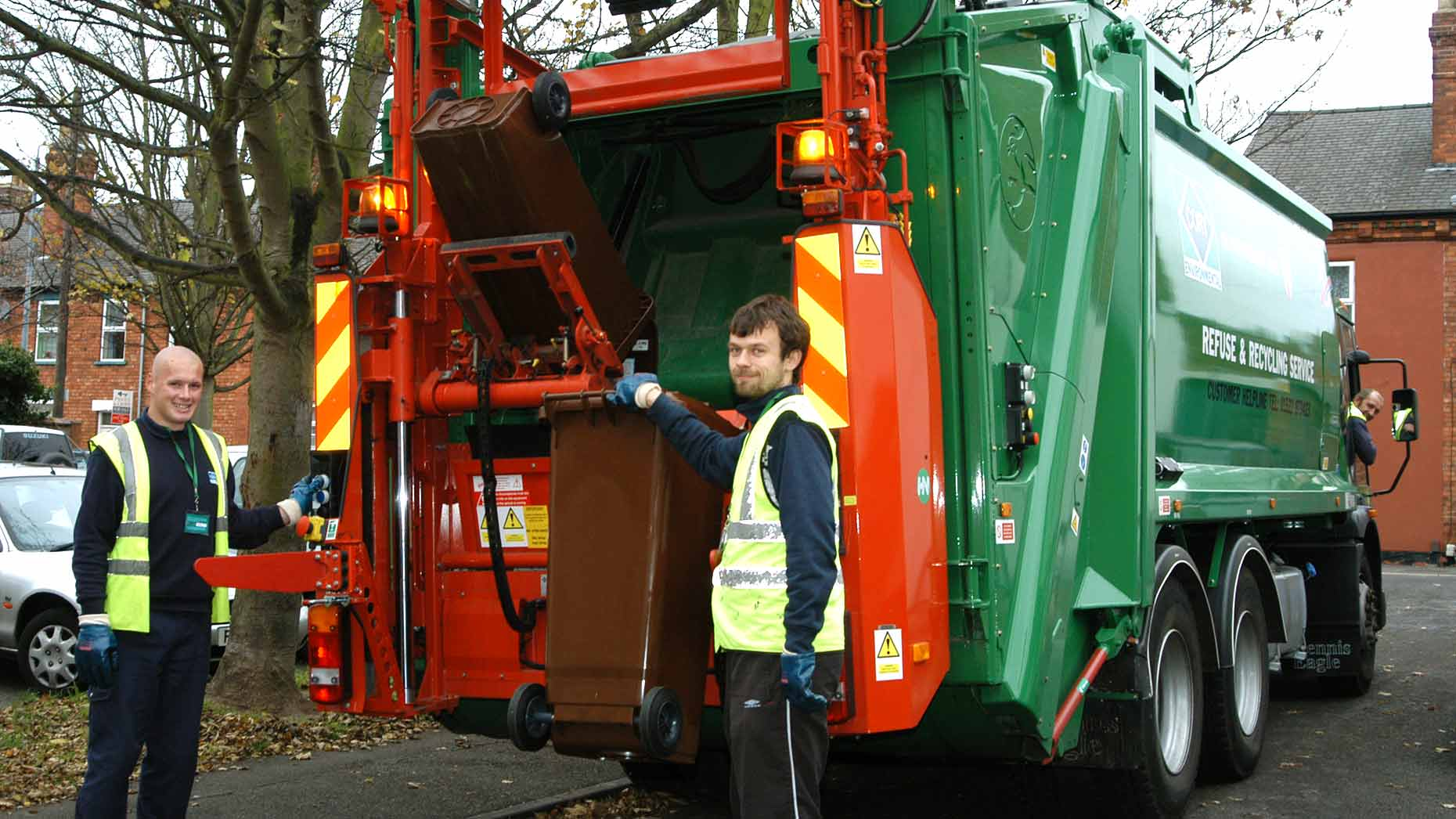 Update on bin collections in Boston