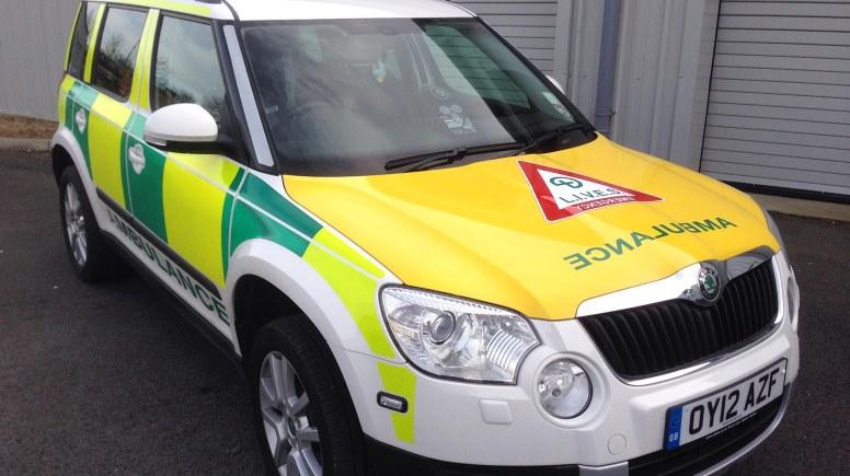 LIVES Fast response Vehicle. Photo: LIVES