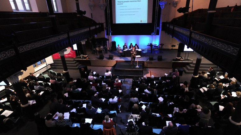 The Lincoln Poverty Conference. Photo: Stuart Wilde