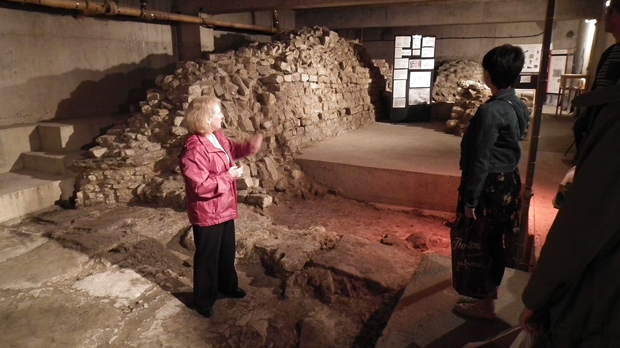 Visitors can take tours of the site only four days of the year. Photo: Emily Norton