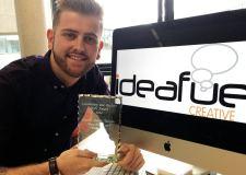 James Berridge is a junior graphic designer apprentice at Ideafuel Creative in Lincoln.