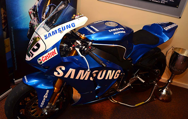 Alex's Honda CBR1000RR for Samsung Honda. Photo: Steve Smailes for The Lincolnite