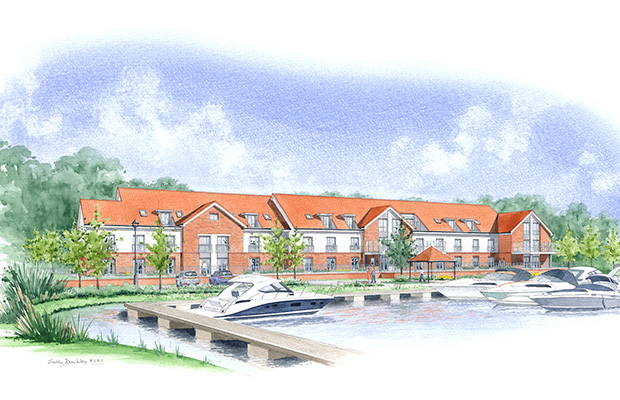 New Burton Waters care home with specialised dementia care.