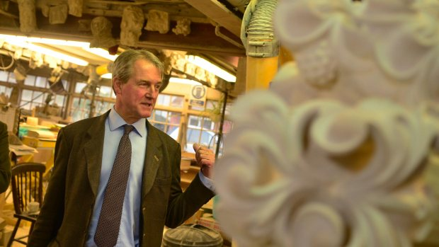 Owen Paterson in Lincoln on March 31, 2014. Photo: Steve Smailes for The Lincolnite