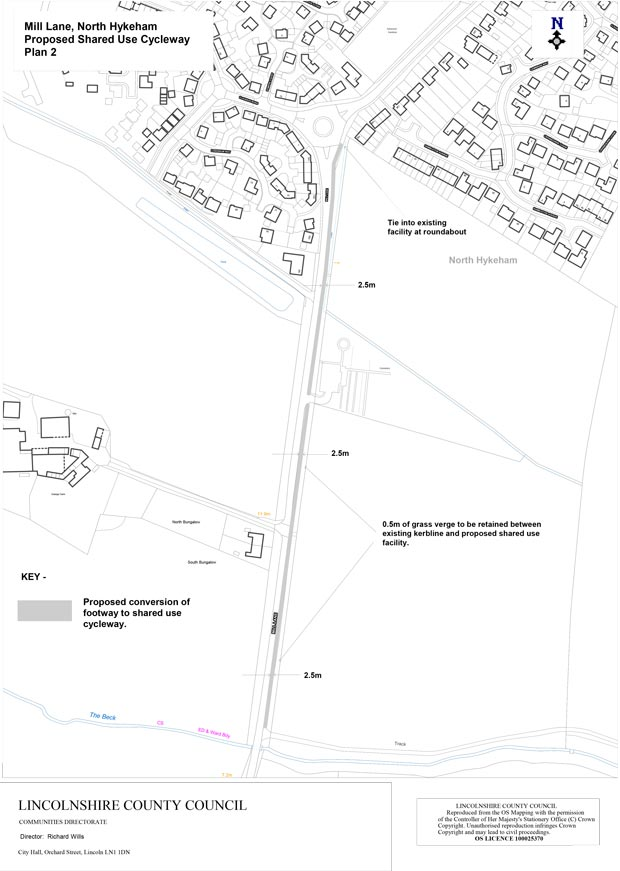 New cycle path proposed for North Hykeham