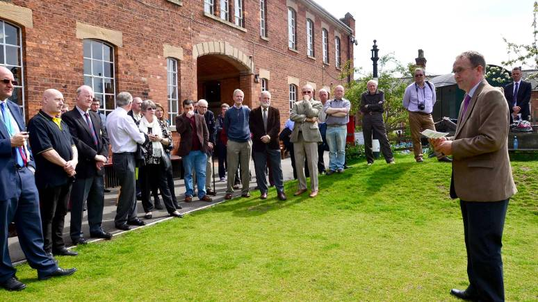 A number of key councillors, project officers and historical experts met at the museum to experience the new technology. Photo: Steve Smailes for The Lincolnite