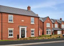 An idea of the style of the houses to be built on the development site.