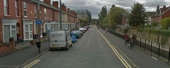 Sincil Bank in Lincoln. Photo: Google Street View