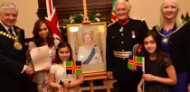 New citizens and their families were welcomed by HM Lord Lieutenant of Lincolnshire and the Cahirman of Lincolnshire County Council. Photo: Steve Smailes for The Lincolnite