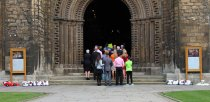 Ethan Maull's public funeral service at Lincoln Cathedral.