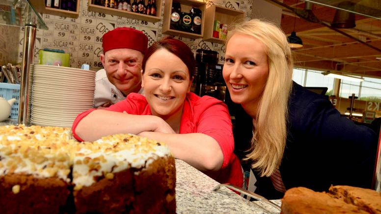 Staff celebrated the launch of the new Decks restaurant. Photo: Steve Smailes for The Lincolnite