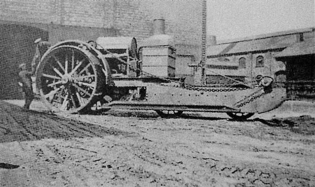 The Tritton Trench Crosser in Lincoln