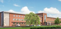 The front of Joseph Banks Laboratories, which faces north. Photo: University of Lincoln