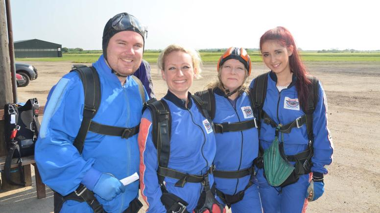 Jonathan Bell (property consultant), Clare Fordyce (sales manager), Lesley Joosub (PA to the directors), Jess Sheppard (admin assistant).