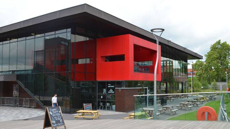 The Student Union Tower Bar, located on the University of Lincoln campus. Photo: The Lincolnite