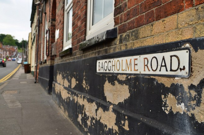 Baggholme Road, off Monks Road in Lincoln. Photo: Steve Smailes