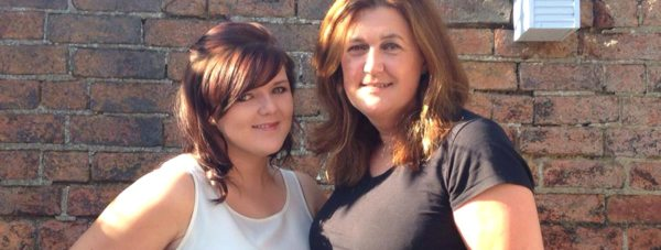 Athena Pears and her mum Gillian Bush will receive their degrees on the same day.