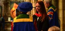 Jade Etherington at the special ceremony. Photo: Steve Smailes/The Lincolnite