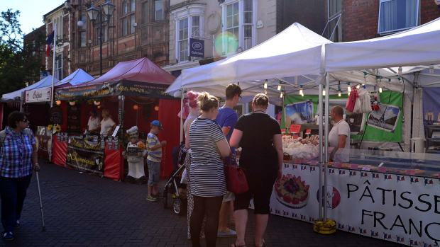The Commonwealth Food Festival on the High Street. Photo: Steve Smailes for The Lincolnite