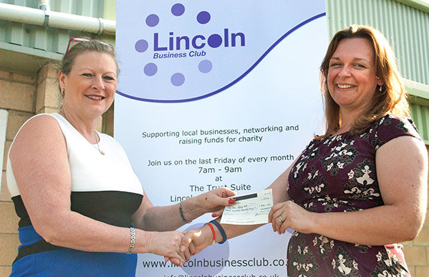 To celebrate the LBC's 10th anniversary, two charities were awarded £300 donations.