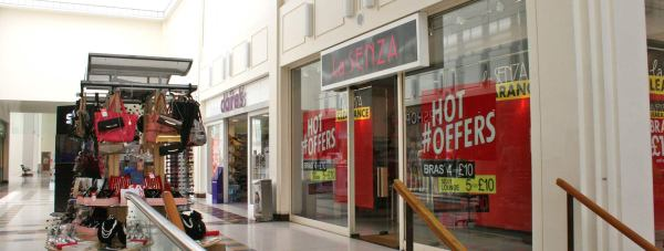 The Lincoln La Sanza store, located in the Waterside Shopping Centre. Photo/File: The Lincolnite