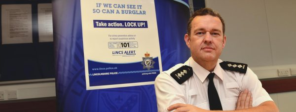 Stewart Brinn, Lincolnshire Police Chief Inspector for Lincoln and West Lindsey. Photo: Steve Smailes/The Lincolnite
