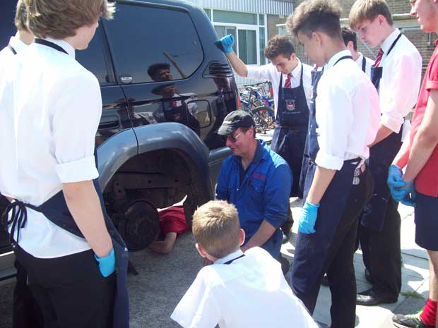Sir Robert Pattinson Academy students got a taste of working life at their annual Workwise Day.