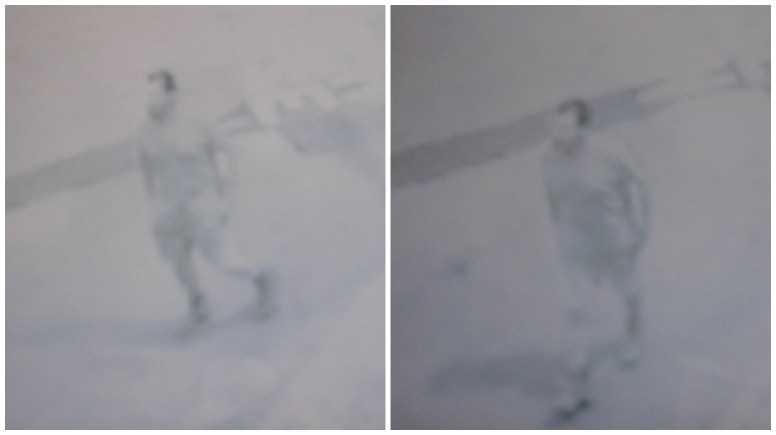 CCTV images of the man police would like to speak to regarding the sexual assault of a woman in Lincoln.