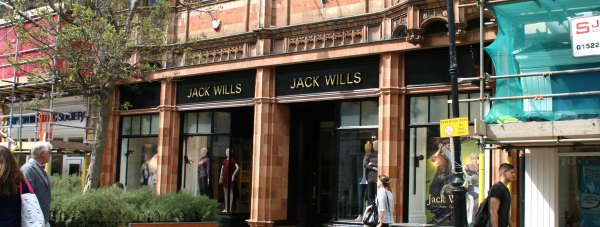 The new Jack Wills store on Lincoln High Street.