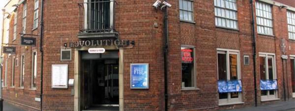 Revolution bar on Park Street in Lincoln.