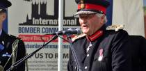 Chairman of the Lincolnshire Bomber Command Memorial Trust, Lord Lieutenant Tony Worth. Photo: Steve Smailes for The Lincolnite