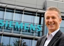 Managing Director of Siemens Lincoln, Neil Corner.
