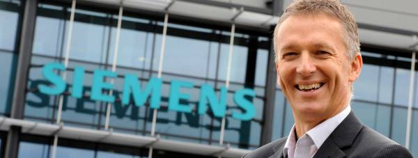 Managing Director of Siemens Lincoln, Neil Corner.