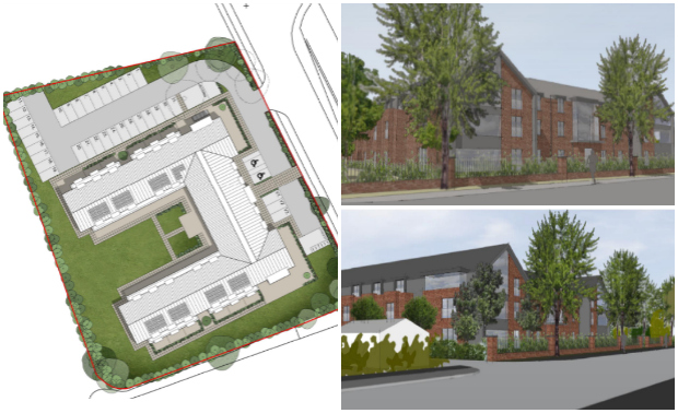 Outline plans have been aproved for a new care home on Long Leys Road in Lincoln. Images: Place Architecture