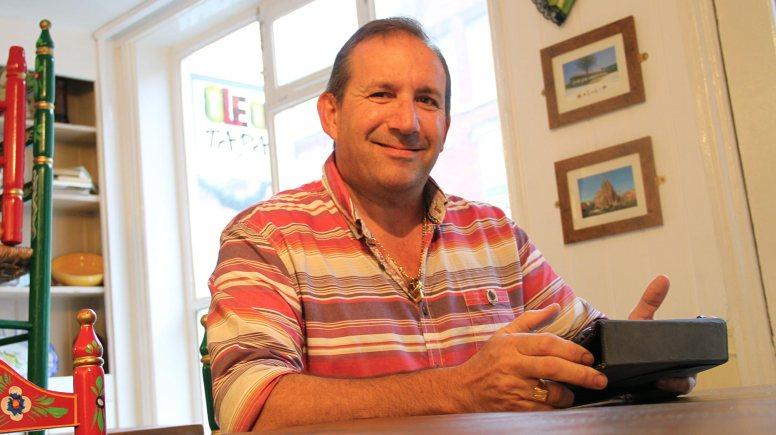 Lincoln restaurant owner Amador Abruneiras.  Photo: Emily Norton