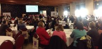 Dozens of local organisations attended the conference at the Lincolnshire Showground. Photo: Stuart Wilde
