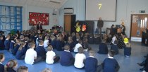 South Hykeham School children learnt about cycle safety from theAccess LN6 team.