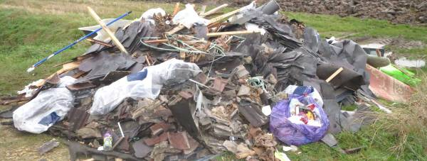Fly-tipping-waste-Lincoln-roofing-company