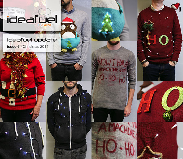 Ideafuel decided to create their own Christmas jumpers.