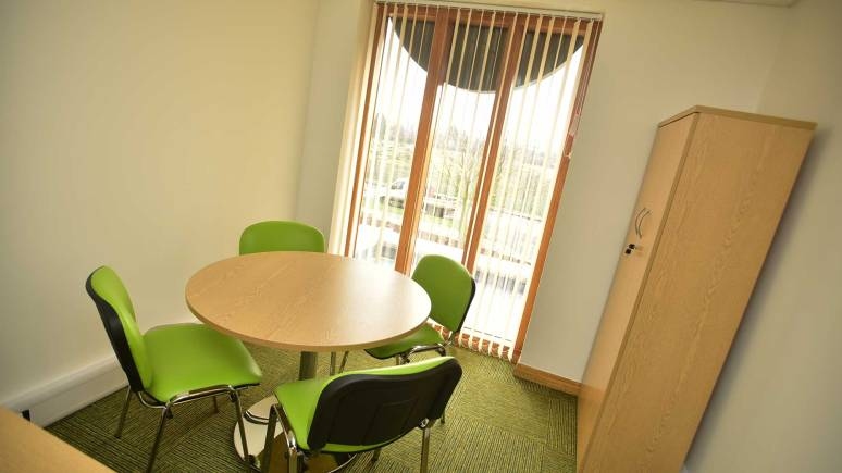 New staff offices at the facility on Tritton Road. Photo: Steve Smailes for The Lincolnite