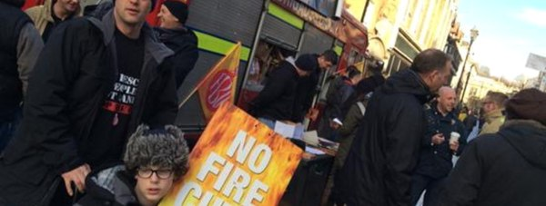 Photo: Defend Our Fire Service group