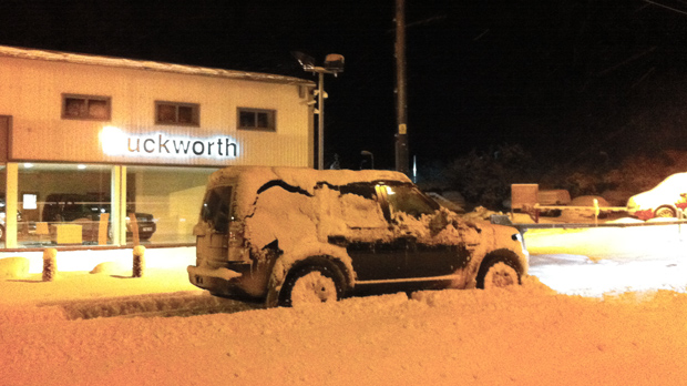 Duckworth vehicles poised for an emergency.