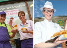 Burton Road Chippy and The Elite Fish and Chip Company celebrated success at the awards ceremony.