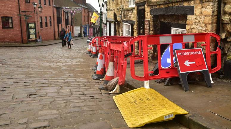 Gas works in the Cathedral and The Strait areas of Lincoln begin from January 5. Photo: Steve Smailes for The Lincolnite