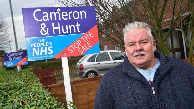 Norton Drive resident Steve Hope is joining the campaign. Photo: Steve Smailes for The Lincolnite