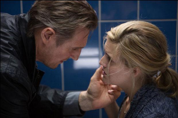 Liam Neeson and Maggie Grace in Taken 3 (2014). Photo: Daniel McFadden - © 2014 EUROPACORP