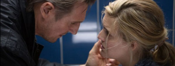 Liam Neeson and Maggie Grace in Taken 3 (2014). Photo: Daniel McFadden - © 2014 EUROPACORP